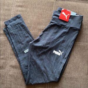NWT PUMA tight fit amplified leggings XL